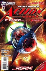 ACTION COMICS #5 NEW 52 Combo Pack
