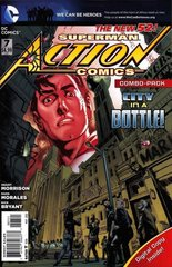 ACTION COMICS #7 NEW 52 Combo Pack