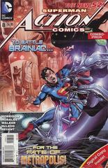 ACTION COMICS #8 (Vol.2) Combo Pack