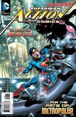 ACTION COMICS #8 NEW 52