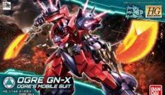 Bandai Gundam Build Divers Ogre GN‑X HGBD Model Kit