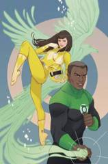 Justice League Power Rangers #1 (Of 6) Green Lantern Yellow