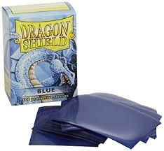 Dragon Shield: 100 in Baby Blue (Matte)