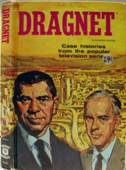 Dragnet © 1957 Whitman TV Book 1510