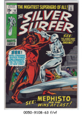 The Silver Surfer #16 © May 1970, Marvel Comics