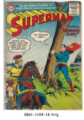 Superman #105 © May 1956, DC Comics