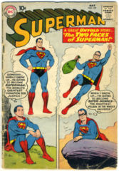 SUPERMAN #137 © May 1960 DC Comics