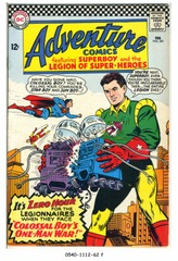 ADVENTURE COMICS #341 © 1966 DC Comics