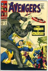 The AVENGERS #037 © February 1967 Marvel Comics