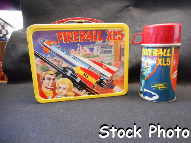 Fireball XL5 Lunch Box w/ Thermos © 1964, King Seeley