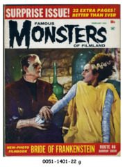 Famous Monsters of Filmland #021 (v4#6) © February 1963 Warren Publishing