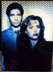 X-FILES CARD SET Series 1 © 1995 Topps w/ X1 card