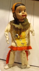 Howdy Doody, Princess Summerfall Winterspring  Marionette © 1950s Peter Puppet