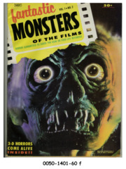 Fantastic Monsters of the Films v1#2 © 1962 Black Shield Publications