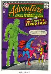 ADVENTURE COMICS #357 © 1967 DC Comics