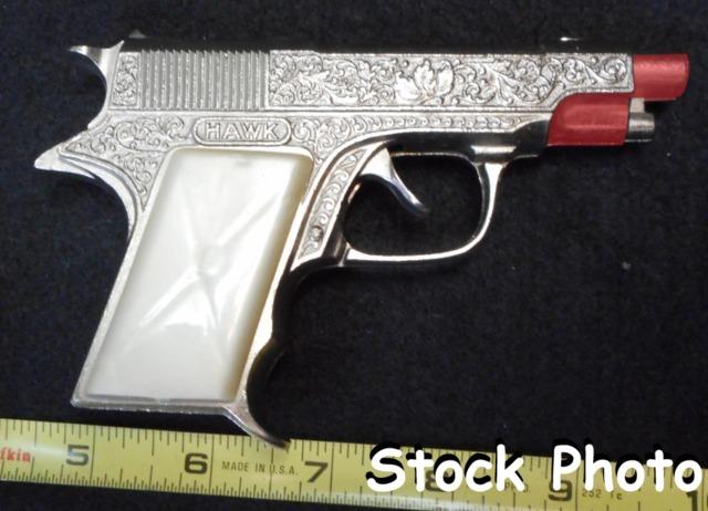 Hubley 234-58 Hawk Automatic Cap Pistol