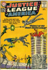 JUSTICE LEAGUE of AMERICA #013 © August 1962 DC Comics