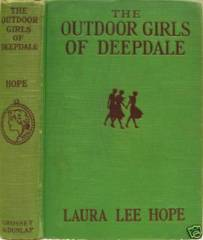 OUTDOOR GIRLS in a WINTER CAMP © 1913 Laura Lee Hope