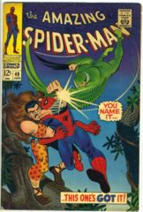 AMAZING SPIDER-MAN #049 © June 1967 Marvel Comics