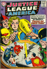 JUSTICE LEAGUE of AMERICA #029 © August 1964 DC Comics