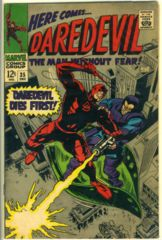 DAREDEVIL #035 © 1967 Marvel Comics