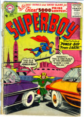 SUPERBOY #052 © October 1956 DC Comics