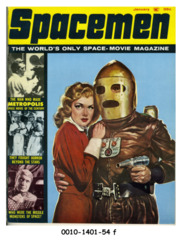 Spacemen #6 (v2#2) © January 1963 Warren/Spacemen