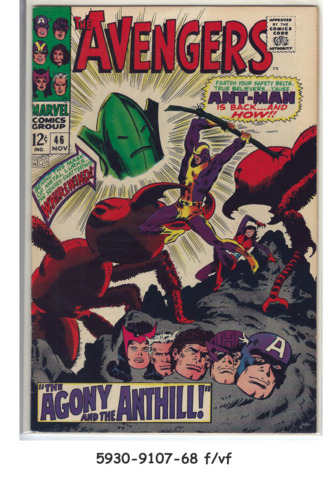 The Avengers #046 © November 1967 Marvel Comics