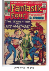 FANTASTIC FOUR #027 © June 1964 Marvel Comics