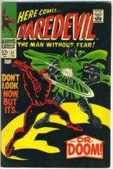 DAREDEVIL #037 © February 1968 Marvel Comics