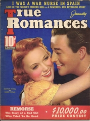 True Romance v26#5 © January 1938 Macfadden Publications