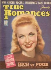 True Romance v28#5 © January 1939 Macfadden Publications