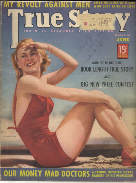 True Story v38#5 © June 1938 Macfadden Publications