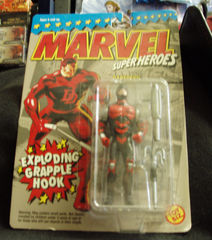 Marvel Superheroes Daredevil w/ Exploding Grapple Hook © 1994 Toy BIZ  48102
