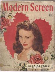 Modern Screen v30#3 © February 1945 Dell Publishing