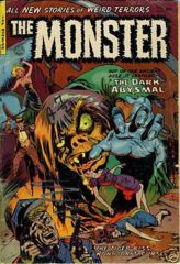 MONSTER #2 © 1953 Fiction House