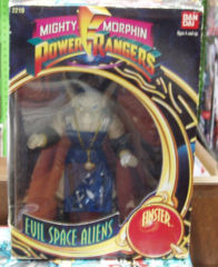 Mighty Morphin Power Rangers, Evil Space Aliens Finster © 1993 Bandai 2210