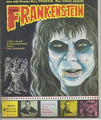 Castle of Frankenstein #22 (v6#2) © 1974 Gothic Castle Publishing