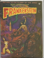 Castle of Frankenstein #23 (v6#3) © 1974, Gothic Castle Publishing