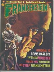 Castle of Frankenstein #24 (v6#4) © 1974, Gothic Castle Publishing