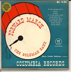 Goldman Band, Forward March, ColumbiaB-86