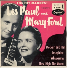 Les Paul and Mary Ford, Capital EAP 1-416