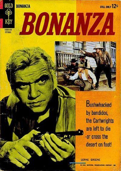 Bonanza #10 © October 1964 Gold Key
