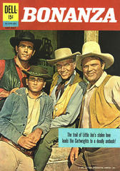 Bonanza #01070-207 © May-July 1962 Dell