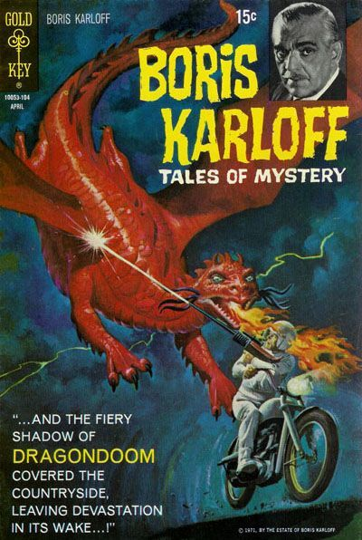 Boris Karloff Tales of Mystery #34 © April 1971 Gold Key