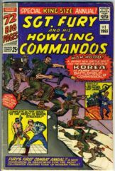 Sgt. Fury and the Howling Commandos ANNUAL 1 © 1965
