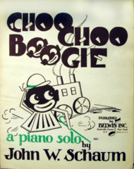 Choo Choo Boogie Solo by John Schaum © 1944 Black Americana style cover