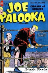 Joe Palooka Comics v2#084 © July 1954 Harvey Comics