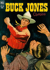 Buck Jones #6 © April-June 1952 Dell