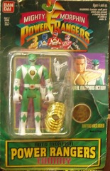 Mighty Morphin Power Rangers Auto Morphin Green Ranger Tommy © 1994 Bandai 2316